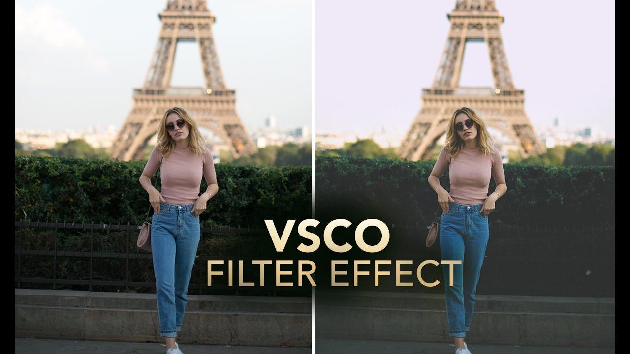 VSCO FILTER / VINTAGE Photo Effect in Photoshop