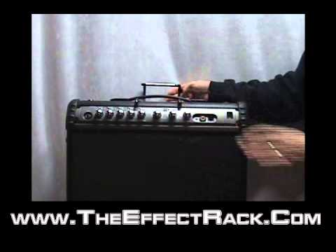 The Effect Rack - Patented Rack device holder 1U and 2U space designs available.