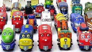 ПАРОВОЗИКИ ИЗ ЧАГГИНГТОН новые серии СБОРНИК - Мультики про паровозики для детей Игрушки Паровозики