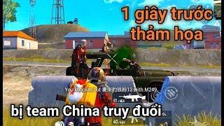 PUBG Mobile - Clear Team China Chưa Tới 10 Giây   Mất Siêu Phẩm Khiến Lộc Phát Khóc..