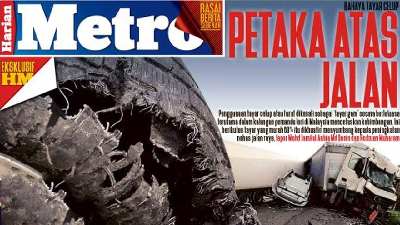 Harian Metro : Berita Panas Hari Ini Khairul Fahmi Che