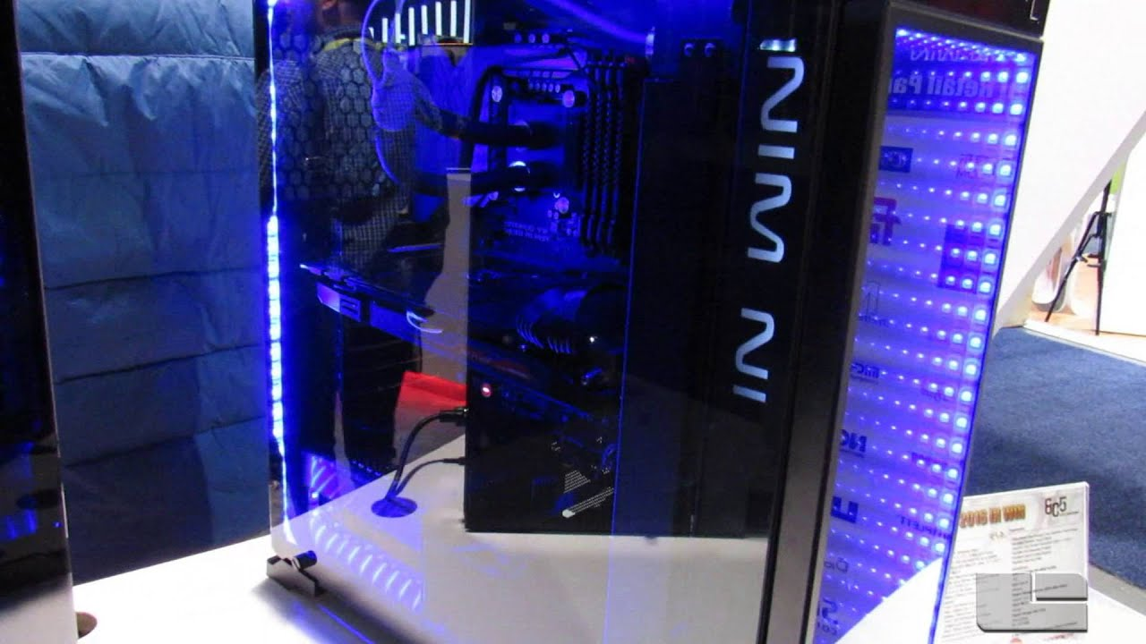 In Win 805 With Infinity Panel At Ces 2016 Youtube