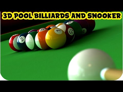 3D Pool Billiards and Snooker Gameplay PC HD