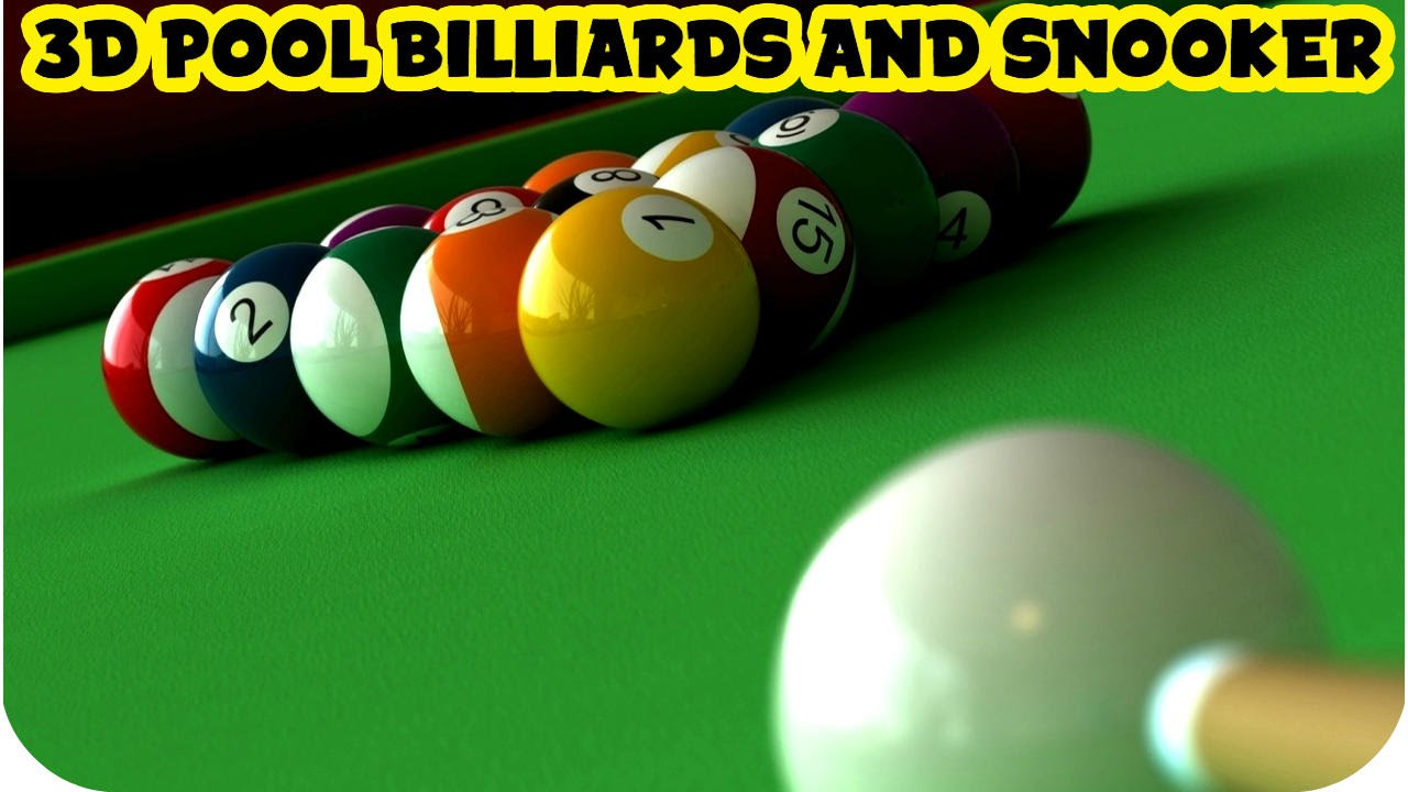 3d snooker game for pc