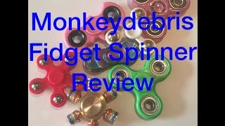 Fidget Spinner Review - 7 Spinners Including Brass Six Sided Spinner