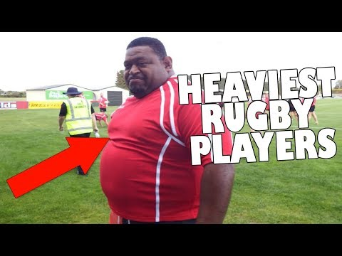 Top 5 HEAVIEST Rugby players