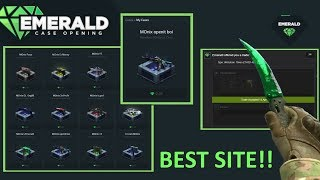 Playing with 30€ on Emerald.gg (Case Opening/Showcase)