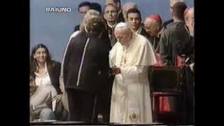 Bob Dylan and Pope John Paul II