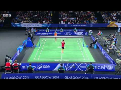 WS SF - P.V. Sindhu vs Michelle LI - 2014 Commonwealth Games badminton