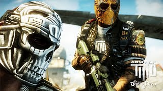 Army of Two: Devil's Cartel All Cutscenes (Game Movie) 1080p HD