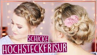 EASY HOCHSTECKFRISUR - Für Mittel & Lange Haare! | #MayBePerfect