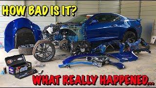 Download Rebuilding A Wrecked 2018 Camaro ZL1 Part 2 Mp3 and Videos