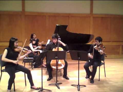 Fauré: Piano Quartet No. 2 (mvt.1)