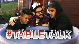 Hot Tub Threesome on #TableTalk!