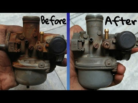 How to Clean Splendor bike Carburetor At Home & with Service /by Akram.modifications