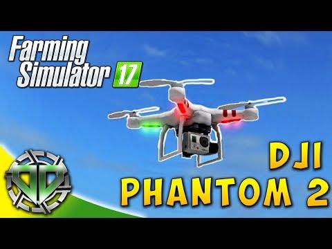 Snettertons Farm: DJI Phantom 2 Drone! : Farming Simulator 17 : EP3