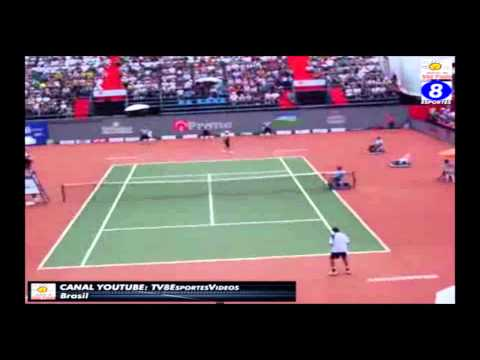 Carlos Berlocq v Thiago Alves - Aberto de São Paulo 2008 - Final (Momentos) Reedição