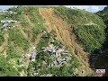 UNTV DRONE: Massive landslide in Itogon, Benguet