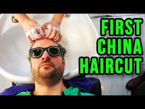 Getting My First Haircut in Shanghai (China)