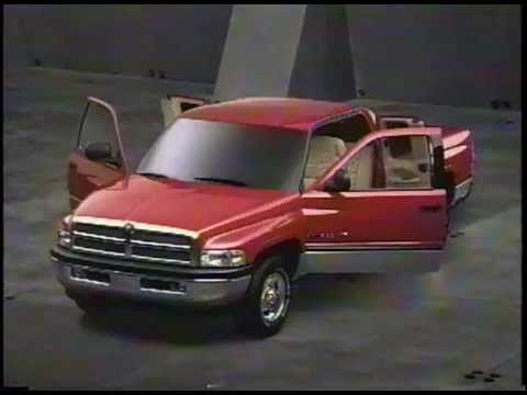 New Dodge Ram Quad Cab Commercial 1997 Youtube