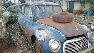 O Maior Colecionador de Carros Antigos do Brasil