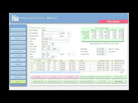 HRIS Human Resources Software - YouTube