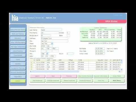 hris human resources software -