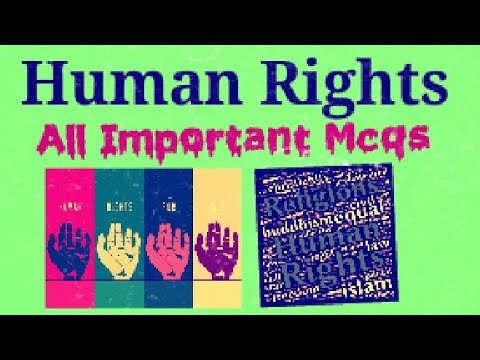 Human Rights with Mcqs