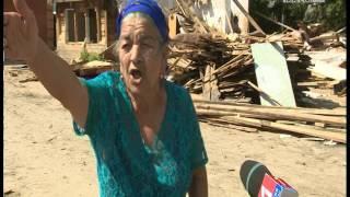 Цыгане в поселке Айша начали сносить собственные дома