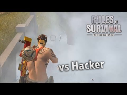 BLIND SHOT ON A HACKER?! Rules of Survival