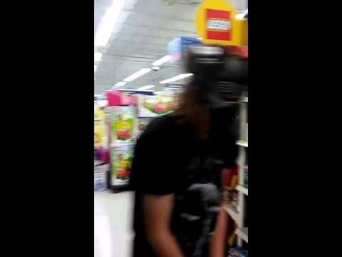 Kylo Ren having an autistic shit fest in Walmart
