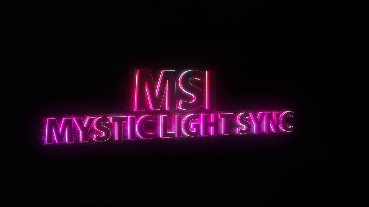 Wallpaper Engine - 3D/4k@60 - MSI Mystic light sync
