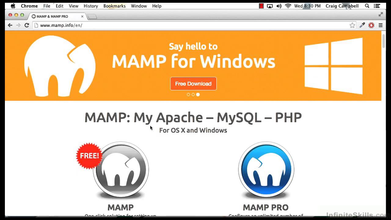 Building Websites with WordPress Tutorial | Downloading MAMP For Your Mac