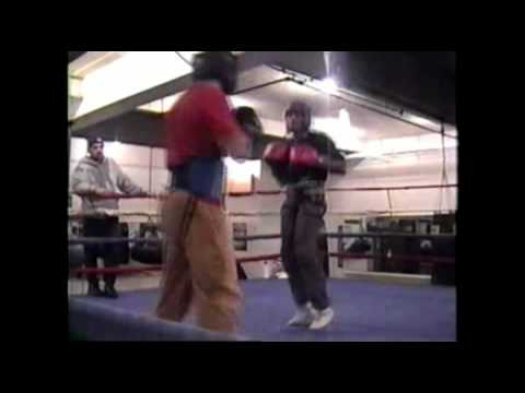 Boxing: Michael L Anderson JR _ Sparring Session '03