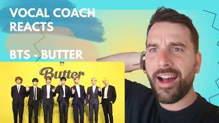 Voice Coach reacts - BTS - BUTTER