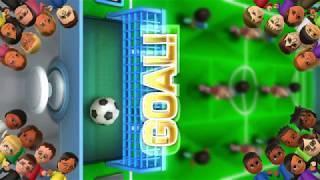 Wii Party U - Tabletop Foosball - Vs Master Cpu