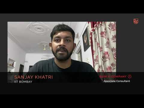 Sanjay Khatri, Associate @ Bain, IIT Bombay | Relay Campus -  Management Consulting