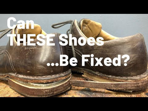 Total Shoe Restoration | Shoes Taken Completely Apart And Put Back Together...but Better!!