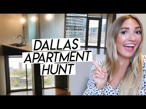APARTMENT HUNTING IN TEXAS! My Dallas Apartment Search