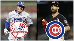 Predicting Where the TOP 10 MLB Free Agents of 2019 Will Sign
