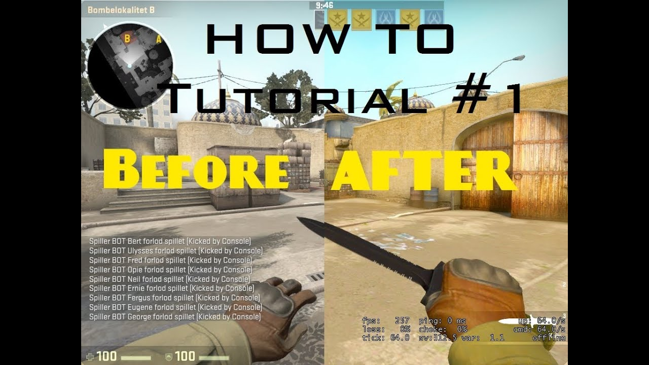 How to change your colour in csgo