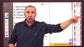 24) XX. Yüzyıl Osmanlı Devleti - III - Yasin KORKUT (2018)