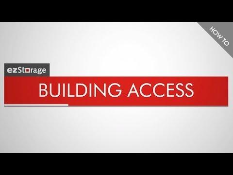 ezStorage How To: Building Access