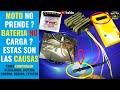 BATERIA NO CARGA? SOLUCIONADO COMPROBAR REGULADOR ESTATOR CABLEADO SUZUKI GS 500 BOBINA Y CORONA