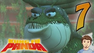 Kung Fu Panda The Video Game Walkthrough - PART 7 - Crocodile Queen / Sergeant Boss Fight!!!
