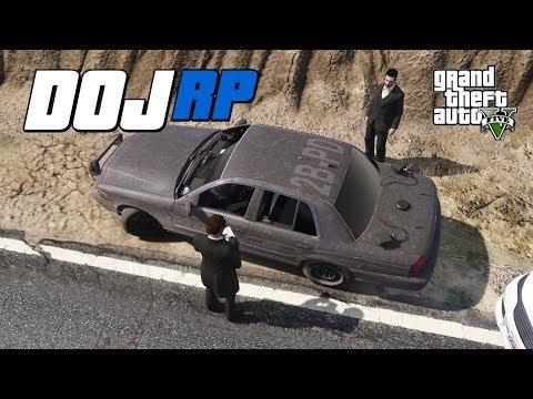 GTA V  DOJ - Episode 37 - We're from the Bureau.