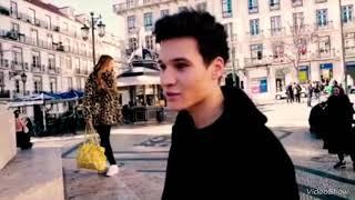 Wincent Weiss bei seinem Musikvideodreh zu 'An Wunder'