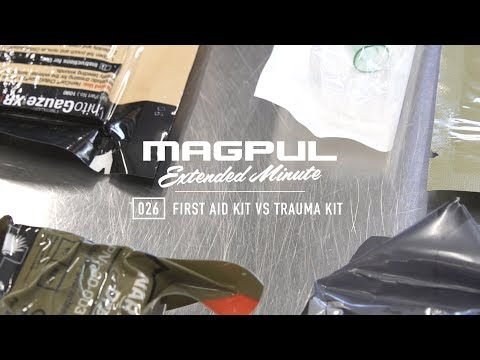 Magpul – Extended Minute – 026 First Aid Kit vs Trauma Kit