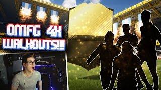 FIFA 17: OMG 4x HEFTIGE WALKOUTS! (DEUTSCH) - ULTIMATE TEAM - UNGLAUBLICHES PACK OPENING!