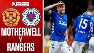 Motherwell 0-3 Rangers | Hat-Trick Hero Arfield as Rangers Thrash the Well | Ladbrokes Premiership